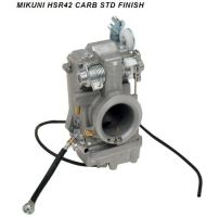 MIKUNI HSR42 carburetor for Harley Davidson custom applications.