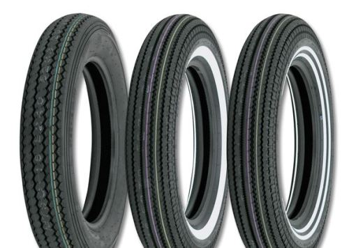 Saw tooth tires... available for around £100 A classic appearance