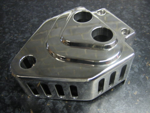 MW Billet coil cover for Twin Cam CARB models