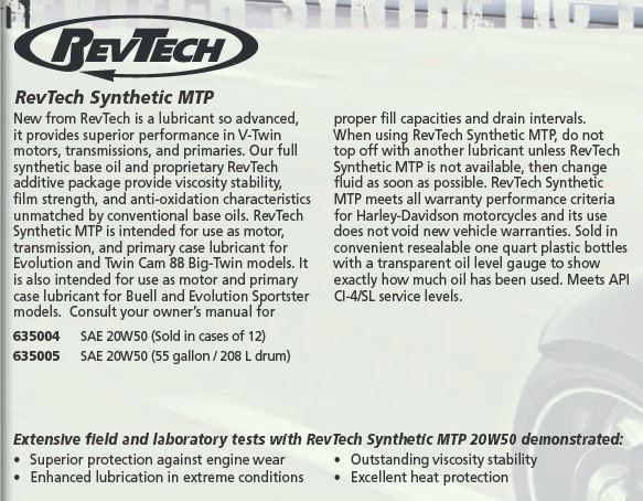RevTech Synthetic