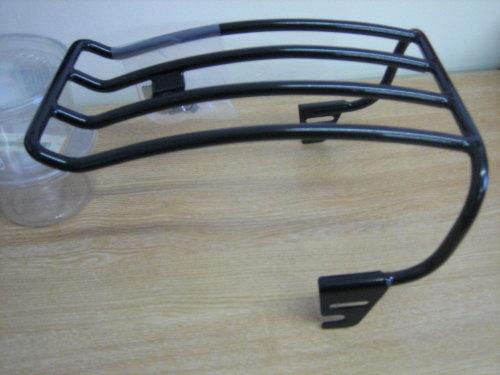 SOFTAIL Black Solo Luggage Rack Fits FXST, FLST 97-99 Harley Davidson