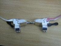 Billet Handle Bar Controls for Hydraulic Operated Clutch Polished Fits Harley Davidson, Custom, Bobber