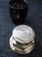 Springer Fork Brass 12 Sided & Multi Hex Top Nut fits 1