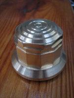 Springer Fork Brass Top Nut fits 1