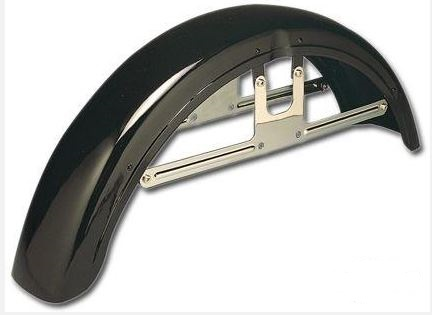 Front Fender Narrow Glide Models Original Style Raw Steel Fits FX, FXR, Spo