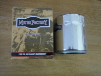 Twin Cam Chrome Oil Filter Fits Models 99up Harley Davidson.. Cycle Haven 07442 496 186