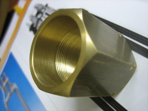 Springer Fork Brass ADJUSTER Nut fits 1