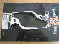 Chrome Smooth Wide Lever Set Fits 96-06 Models Harley Davidson (except 04up XL Models)