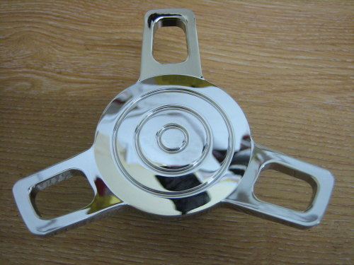 Spinner Gas Cap Screw in Style Fits 96up Vented Chrome Fits Harley Custom B