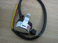 Indicator Switch Chrome & Black Clamps to 7/8