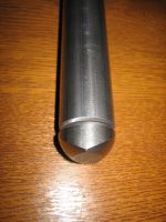 Axle plate weld in end tube cap ( sold each )