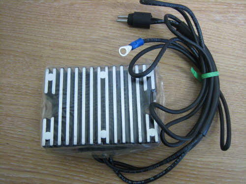 Regulator Rectifier Fits Sportster 5 Speed Model 1991 Black Harley Davidson
