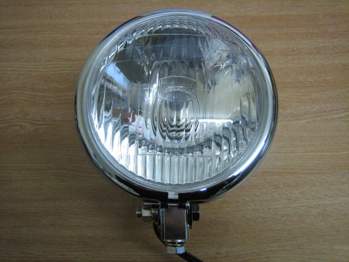 Chrome Head Light 5 3/4
