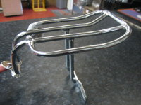Chrome Luggage Rack 2 up Fits Sportster 94-15 Harley Davidson .. CYCLE HAVEN