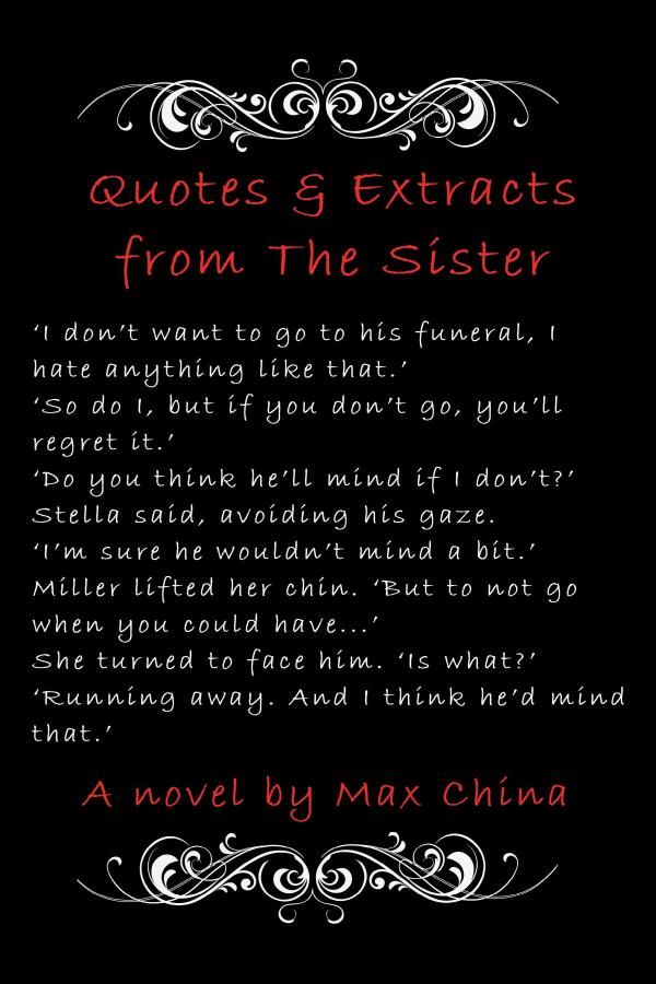 The Sister Quotes and extracts running away