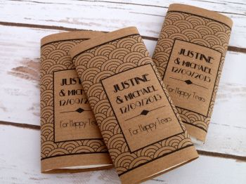 20's style personalised pocket tissues