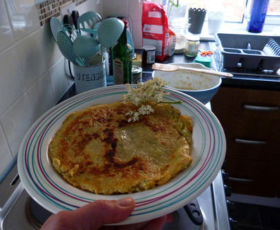 elderflower pancake