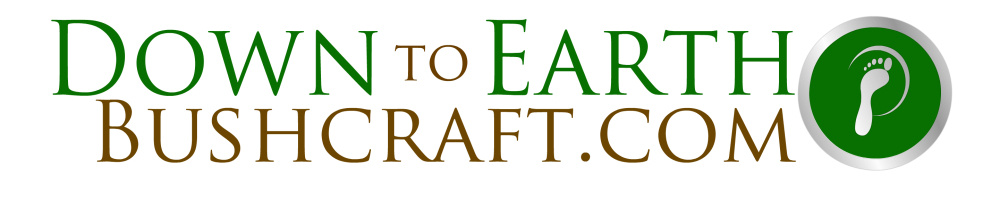 downtoearthbushcraft.com, site logo.