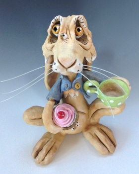 March Hare - Ceramic Sculpture