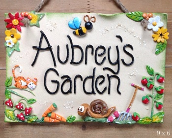 Garden Sign - Personalised