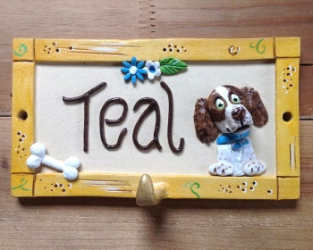 Dog Kennel Name Sign or Lead Hook