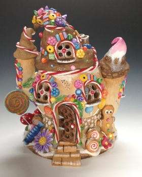 Gingerbread House Tea Light