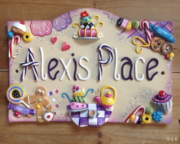 Children's Playhouse Sign - Tea Party Design