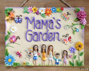Family Garden Sign - Personalised