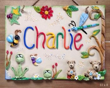 Children's Playhouse Sign - Garden Design