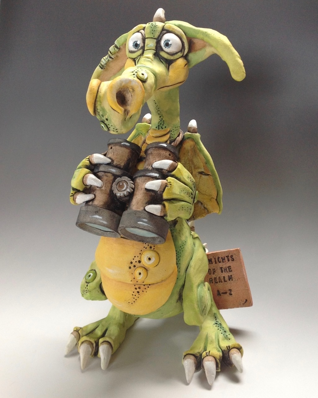 Dragon Sculpture Ceramic Pottery