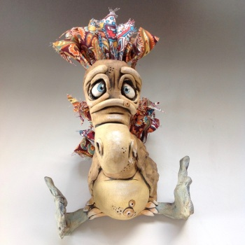 Dodo Bird Sculpture - Ceramic