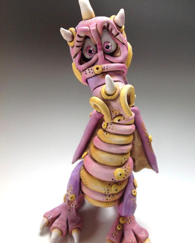 Dragon Sculpture - Ceramic