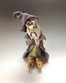 Wizard Sculpture - Ceramic