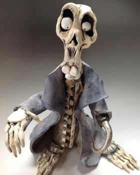 Ghost Ceramic Sculpture