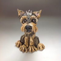 <!_001_>Custom Dog Sculptures, caricature portrait - Small Size