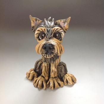 Custom Dog Sculptures, caricature portrait - Small Size