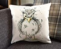 Blackbird Cushion
