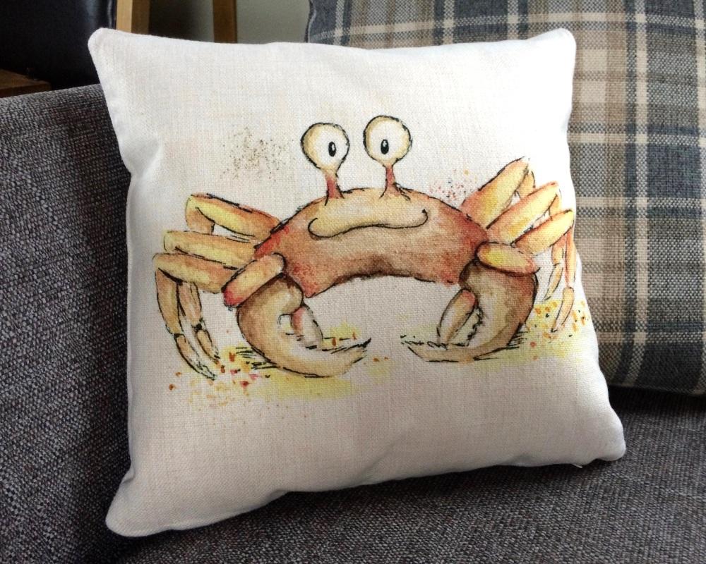 <!_009_>Crab Cushion
