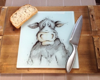 Worktop Saver Cow Design