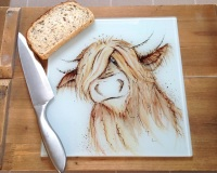 Worktop Saver Highland Cow Design