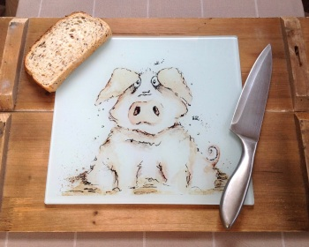 Worktop Saver Pig Design
