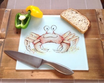 Worktop Saver Crab Design