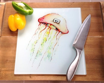 Worktop Saver Jellyfish Design
