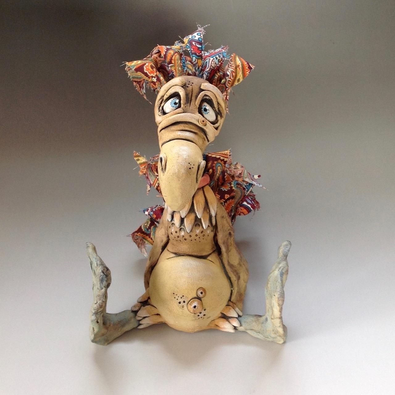 Dodo Sculpture Ceramic Pottery