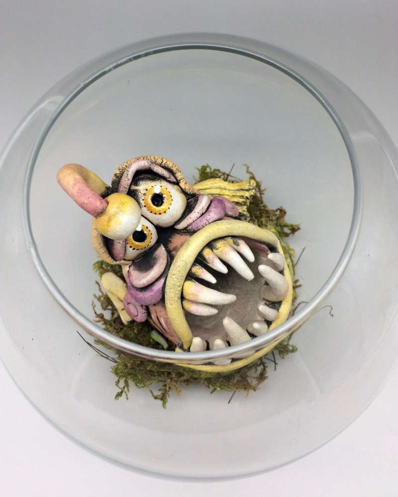 Angler Fish Sculpture - Ceramic