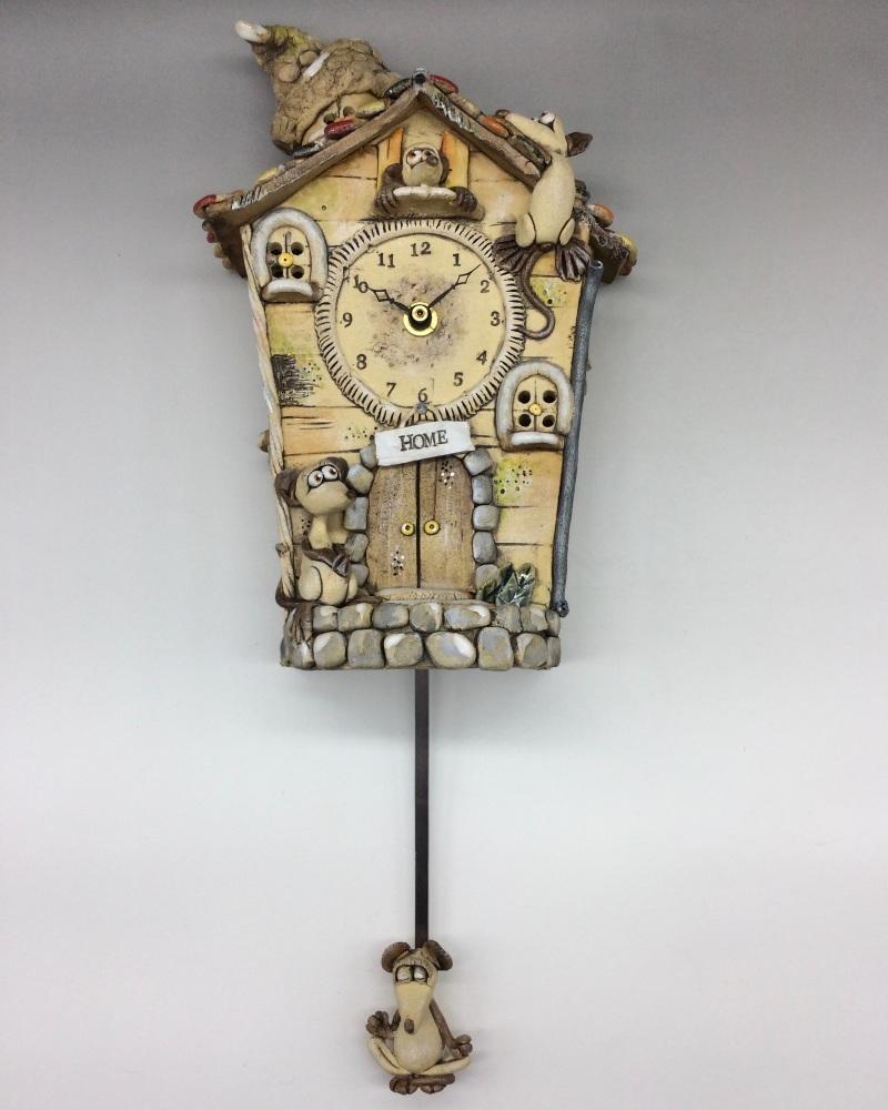 Cuckoo Wall Clock with Pendulum