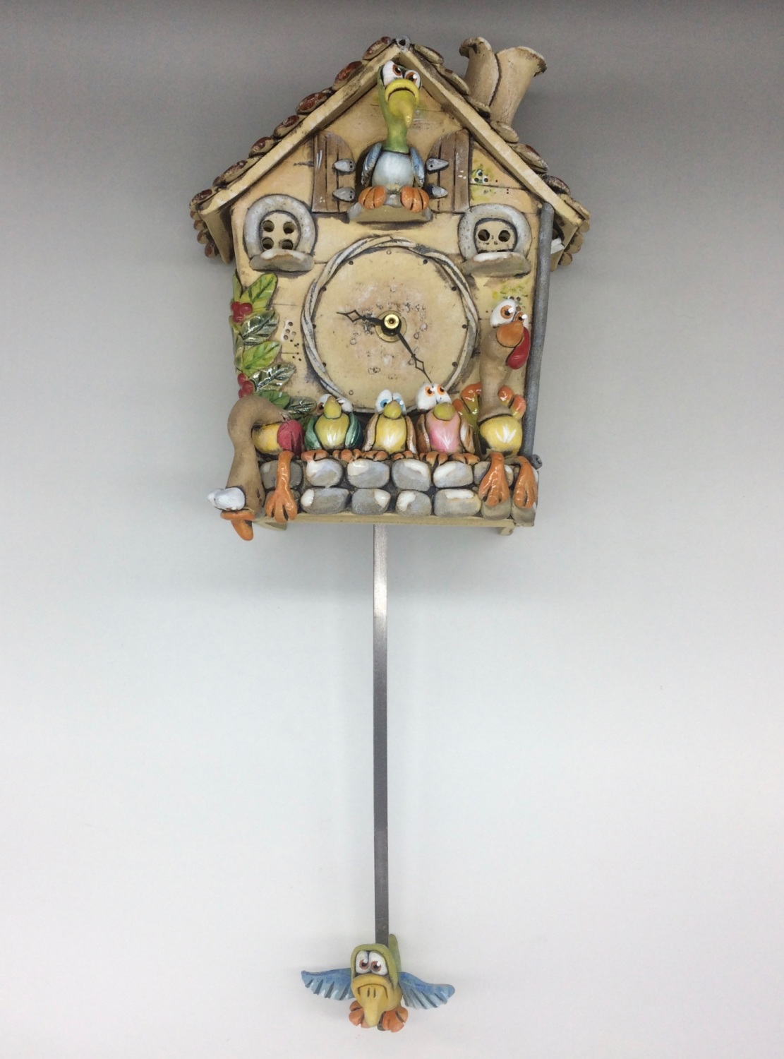 Cuckoo Wall Clock with Pendulum