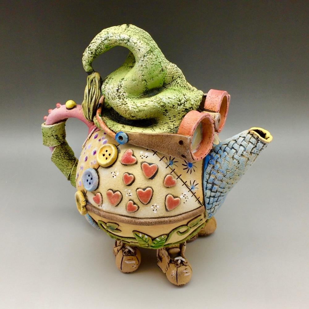 The Traveller Teapot Ceramic