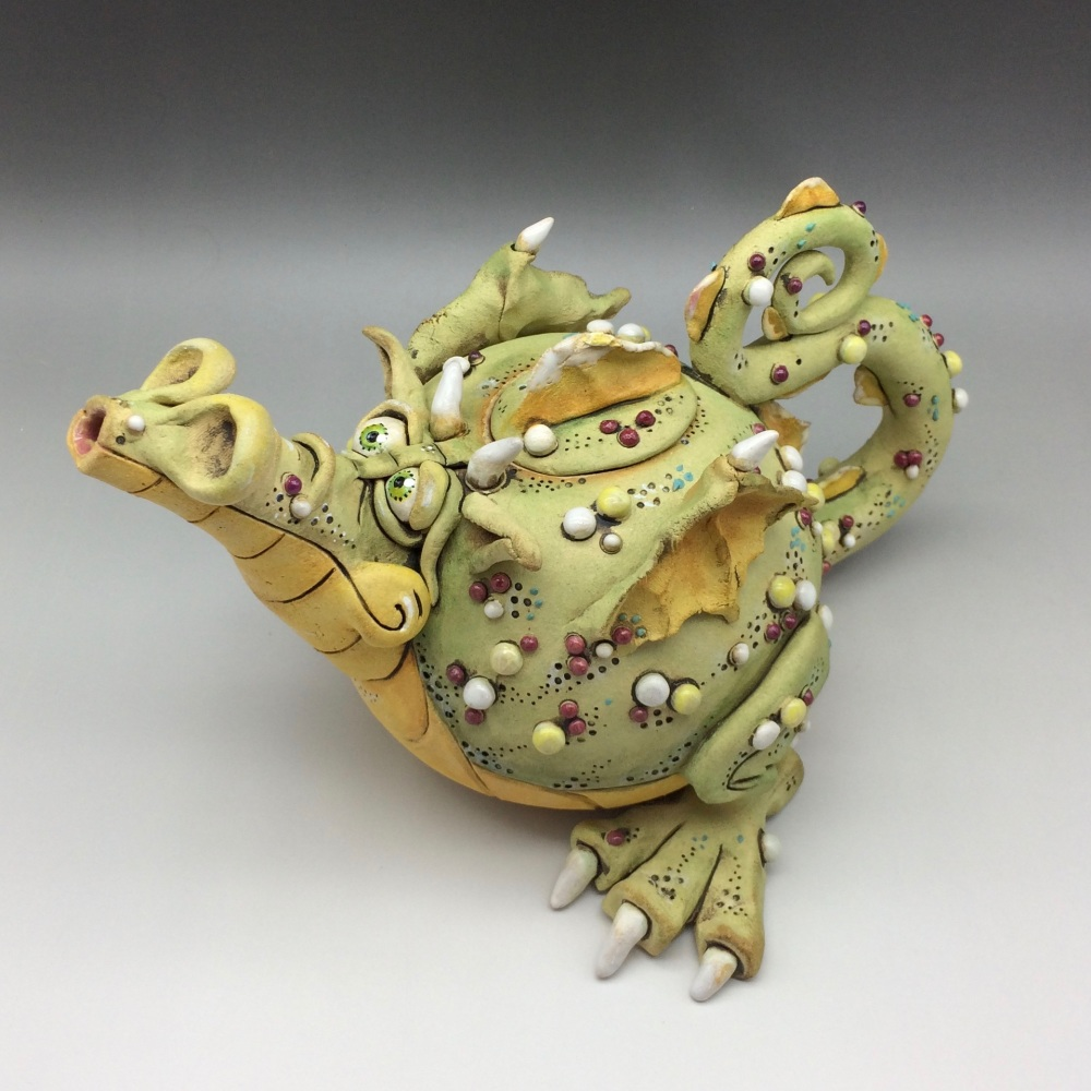 Douglas Dragon Teapot Ceramic