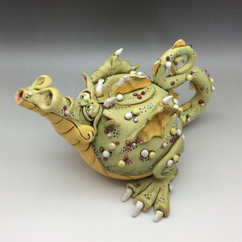 Douglas Dragon Teapot Ceramic
